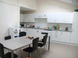 Кухня для студентов в British Study Centres Wycliffe College