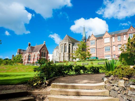 Здание школы Pilgrims Harrow School