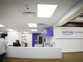 Ресепшен в Kaplan International College Chicago