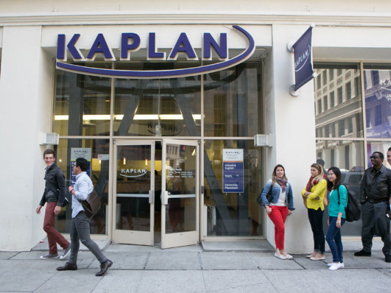 Здание школы Kaplan International College San Francisco