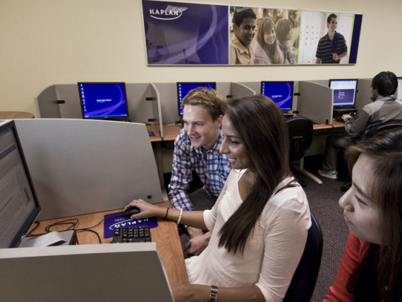 Студенты Kaplan International College San Francisco на занятиях