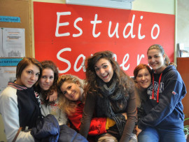 Студенты Estudio Sampere Salamanca