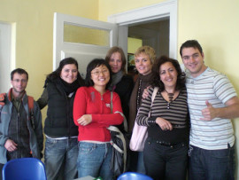 Студенты Cork English College