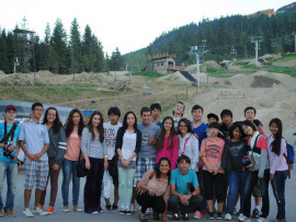 Студенты Bodwell High School Whistler