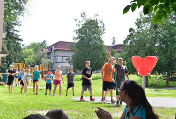 Студенты National School Language Camp