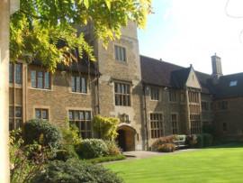 Здание Bellerbys College Cambridge