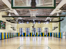 Спортивный зал Leman Manhattan Preparatory School