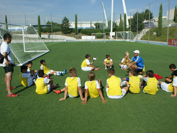 Тренировка в Real Madrid Foundation Campus Experience