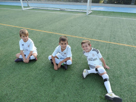 Ученики Real Madrid Foundation Campus Experience