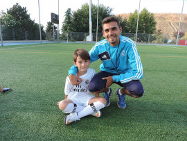 На занятиях в Real Madrid Foundation Campus Experience