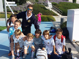 Учащиеся Real Madrid Foundation Campus Experience